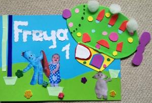 Freya's birthday card