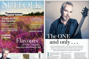 I was lucky enough to interview Nik Kershaw for Suffolk Magazine.