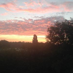 Sunrise - Sept 1, 2014.