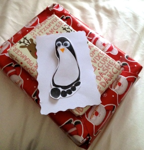 Penguin Christmas.