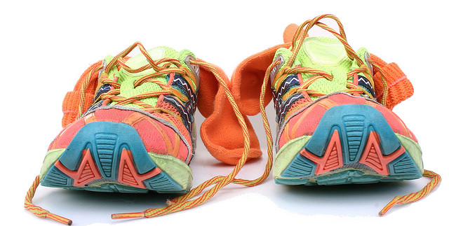 Pretty running shoes. Photo by Timothy Takemoto via Flickr.
