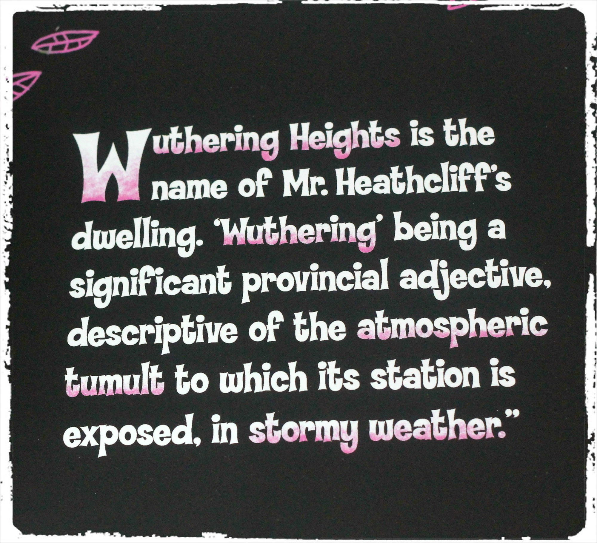Wuthering Heights: A Weather Primer A Christmas Carol: A Colors Primer ...