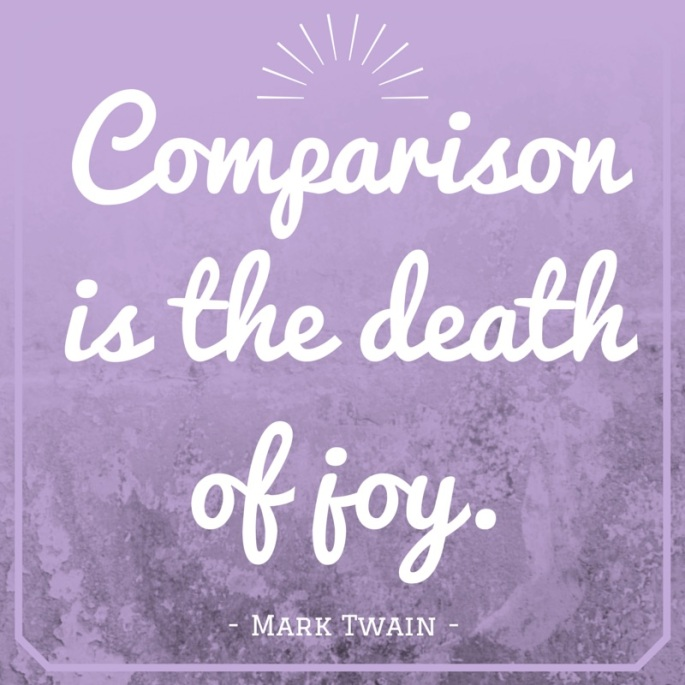 Comparison is the death of joy-3