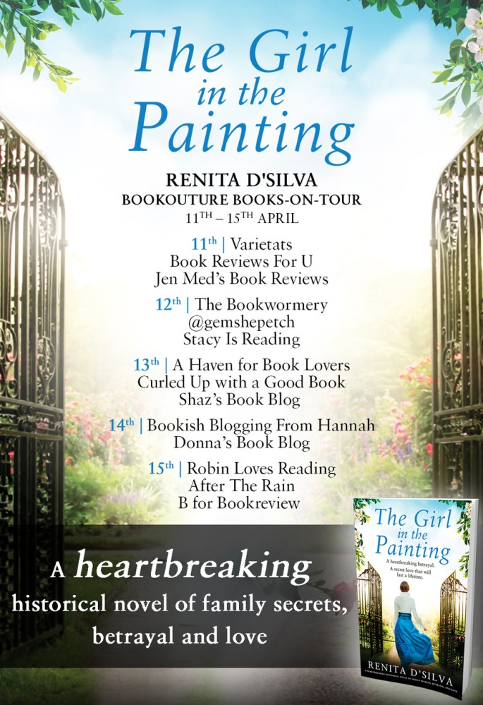 The Girl in the Painting - Blog Tour